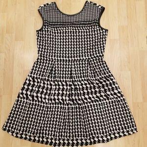 Tiana B fit & flare midi dress